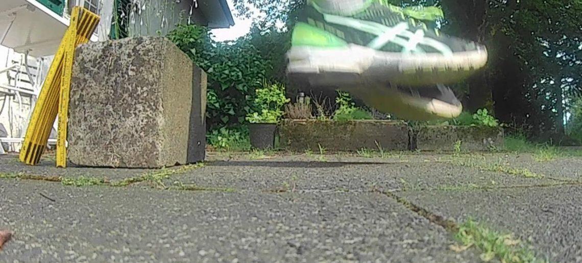 Inelastischer Stoß beim Laufen